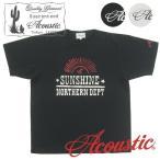 Acoustic/アコースティック 半袖Tシャツ SUNSHINE