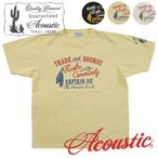 Acoustic/アコースティック 半袖TシャツTRADS AND BOUNDS