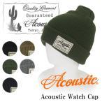 Acoustic/アコースティック ニットワッチキャップ