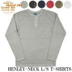Good On/グッドオン ヘンリーネック 長袖Tシャツ ピグメントダイ HENLEY-NECK-LS