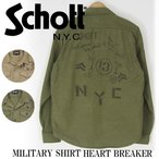 Schott/ショット ミリタリーシャツ MILITARY SHIRT HEART BRAKER