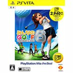 PSV【新品】 みんなのGOLF6 [PlayStation Vita the Best]
