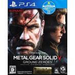 【送料無料】【新品】PS4:メタルギアソリッド5 グラウンドゼロズ 初回生産限定特典付き