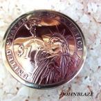 USAアメリカ合衆国 $1ドル硬貨裏面 自由の女神 メダル/コインコンチョCONCHO