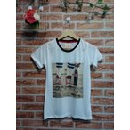 ショッピングプリント プリント  半袖 クルーネック Tシャツ 599円 クリックポスト送料無料