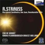 R.シュトラウス:「ツァラトゥストラはかく語りき」「ドン・ファン」「ばらの騎士」組曲/ワールト(エド・デ)[HybridCD]【返品種別A】
