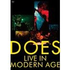 LIVE IN MODERN AGE/DOES[Blu-ray]【返品種別A】