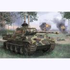 ドラゴンモデル 1/ 35 WW.II ドイツ軍 パンターG型指揮戦車(DR6847)プラモデル 返品種別B