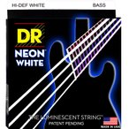 DR エレキベース弦(MEDIUM .045-.105)NEON Hi-Def WHITEシリーズ DR Strings NWB-45 返品種別A