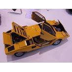 オートアート 1/ 18 ランボルギーニ カウンタック LP400(イエロー)(74646)ミニカー 返品種別B