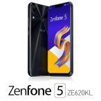 エイスース ASUS ZenFone 5 (ZE620KL) シャイニーブラック 6.2インチ SIMフリースマートフォン[メモリ 6GB/ ストレージ 64GB] ZE620KL-BK64S6 返品種別B