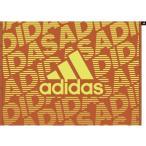 アディダス ラップタオル(オレンジ/ ショックイエロー・L) adidas WRAP TOWEL LARGE ADJ-JDV60-GF6924-1 返品種別A