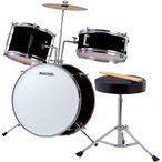 MAXTONE ジュニア ドラムセット MX-50 ブラック
