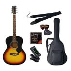 セピアクルー アコースティックギター(ヴィンテージサンバースト)ライトセット Sepia Crue FG-10/ VS ライトセツト 返品種別A