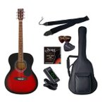 セピアクルー アコースティックギター(レッドサンバースト)ライトセット Sepia Crue FG-10/ RDS ライトセツト 返品種別A