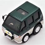 トミーテック チョロQ zero Z-07f 三菱デリカスターワゴン(緑/ ベージュ)(260219)ミニカー 返品種別B