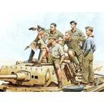 マスターボックス 1/ 35 独・DAKアフリカ軍団ロンメル将軍&司令部将校・戦車上(MB3561)プラモデル 返品種別B