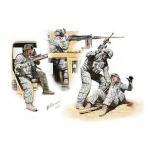 マスターボックス 1/ 35 米・現用兵士4体中東アフガン戦 車上捜索 1名負傷(MB35170)プラモデル 返品種別B