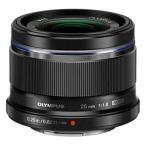 オリンパス M.ZUIKO DIGITAL 25mm F1.8(ブラック) ※マイクロフォーサーズ用レンズ 25MMF1.8(ブラック) 返品種別A