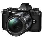 オリンパス ミラーレス一眼カメラ「OM-D E-M5 MarkII」14-150mmII レンズキット(ブラック) E-M5-MK2-14150K(BLK) 返品種別A