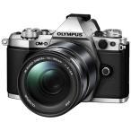 ショッピングオリンパス オリンパス デジタル一眼カメラ「OM-D E-M5 MarkII」14-150mmII レンズキット(シルバー) E-M5 MK2 14150K(SLV) 返品種別A