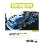 デカールキャス 1/ 24 ポルシェ クレマー935K3 ヴェラ・ワイズバーグチーム 1981年ル・マン24時間レース デカールセット(DCL-DEC036)デカール 返品種別B