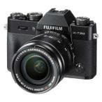 富士フイルム ミラーレスデジタルカメラ「X-T20」レンズキット(ブラック) F X-T20LK-B 返品種別A