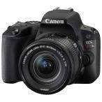 キヤノン デジタル一眼レフカメラ「EOS Kiss X9」EF-S18-55F4-56IS STMレンズキット (ブラック) EOSKISSX9LK-BK 返品種別A
