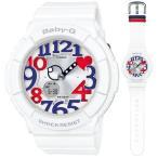カシオ BABY-G White Tricolor Seriesデジアナ時計 レディースタイプ BGA-130TR-7BJF 返品種別A