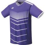 ヨネックス メンズ ゲームシャツ(フィットスタイル)(ディープパープル・サイズ:O) YONEX YO-10396-751-O 返品種別A