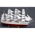 ウッディジョー 1/ 160 木製帆船模型 新日本丸(帆付)木製組立キット 返品種別B