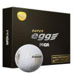 プロギア 高反発、金エッグ 非公認球 ゴルフボール 1ダース 12個入り PRGR SUPER egg BALL 17SEB12P 返品種別A