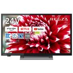 東芝 24型  ハイビジョンLED液晶テレビ (別売USB HDD録画対応) REGZA 24V34 返品種別A