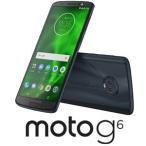 モトローラ Moto G6 ディープインディゴ PAAG0028JP 返品種別B