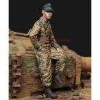 アルパイン 1/ 35 WWII 独 武装親衛隊 ティーガー搭乗員(1944-45)(パンツァージャケット)(AM35224)レジンフィギュア 返品種別B