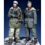 アルパイン 1/ 35 WWII独 武装親衛隊 第三次ハリコフ戦(2体セット)(AM35237)プラモデル 返品種別B