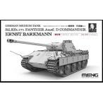 モンモデル 1/ 35 ドイツ中戦車 Sd.Kfz.171 パンサーD型 バルクマン搭乗車(限定版)(MENES-003)プラモデル 返品種別B