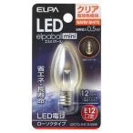 ELPA LEDローソク球(クリア電球色相当) elpaball mini(エルパポール ミニ) LDC1CL-G-E12-G306 返品種別A