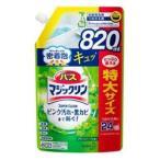 バスマジックリン 泡立ちスプレー スーパークリーン グリーンハーブの香り つめかえ用 820ml 花王 返品種別A