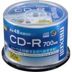 マクセル データ用700MB 48倍速対応CD-R 50枚パック ホワイトプリンタブル CDR700S.WP.50SP 返品種別A