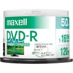 マクセル 16倍速対応DVD-R 50枚パック 4.7GB ホワイトプリンタブル DRD120PWE.50SP 返品種別A