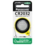 パナソニック リチウムコイン電池×1個 Panasonic CR2032 CR2032P 返品種別A