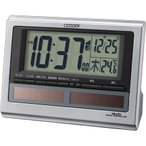 シチズン 目覚まし時計パルデジットソーラーR125-19 8RZ125-019 返品種別A