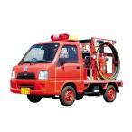 アオシマ 1/ 24 ザ・モデルカー No.50 スバル TT2 サンバー消防車 '08 スバル大泉工場パッケージ(51429)プラモデル 返品種別B