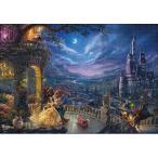 テンヨー トーマス・キンケード キャンバススタイル Beauty and the Beast Dancing inthe Moonlight 1000ピースジグソーパズル 返品種別B