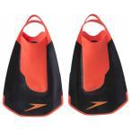 スピード 水泳用トレーニング用品(ブラック×レッド・SS) Speedo Fastskin キックフィン GW-SD97A22-KR-SS 返品種別A