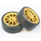 タミヤ SP.1219 1/ 10ツーリングカー用 ドリフトタイヤタイプD&ホイール(2本)(51219)ラジコン用 返品種別B