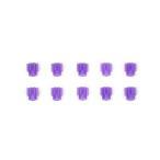 タミヤ 8Tピニオンギヤ:紫(プラ10個)(AO.1014)ミニ四駆パーツ 返品種別B