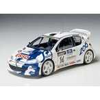 タミヤ 1/ 24スポーツカーシリーズ プジョー 206 WRC (24221) 返品種別B