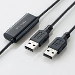 エレコム USB2.0リンクケーブル 1.2m(Windows対応) UC-TV3BK 返品種別A